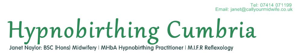 Hypnobirthing Cumbria